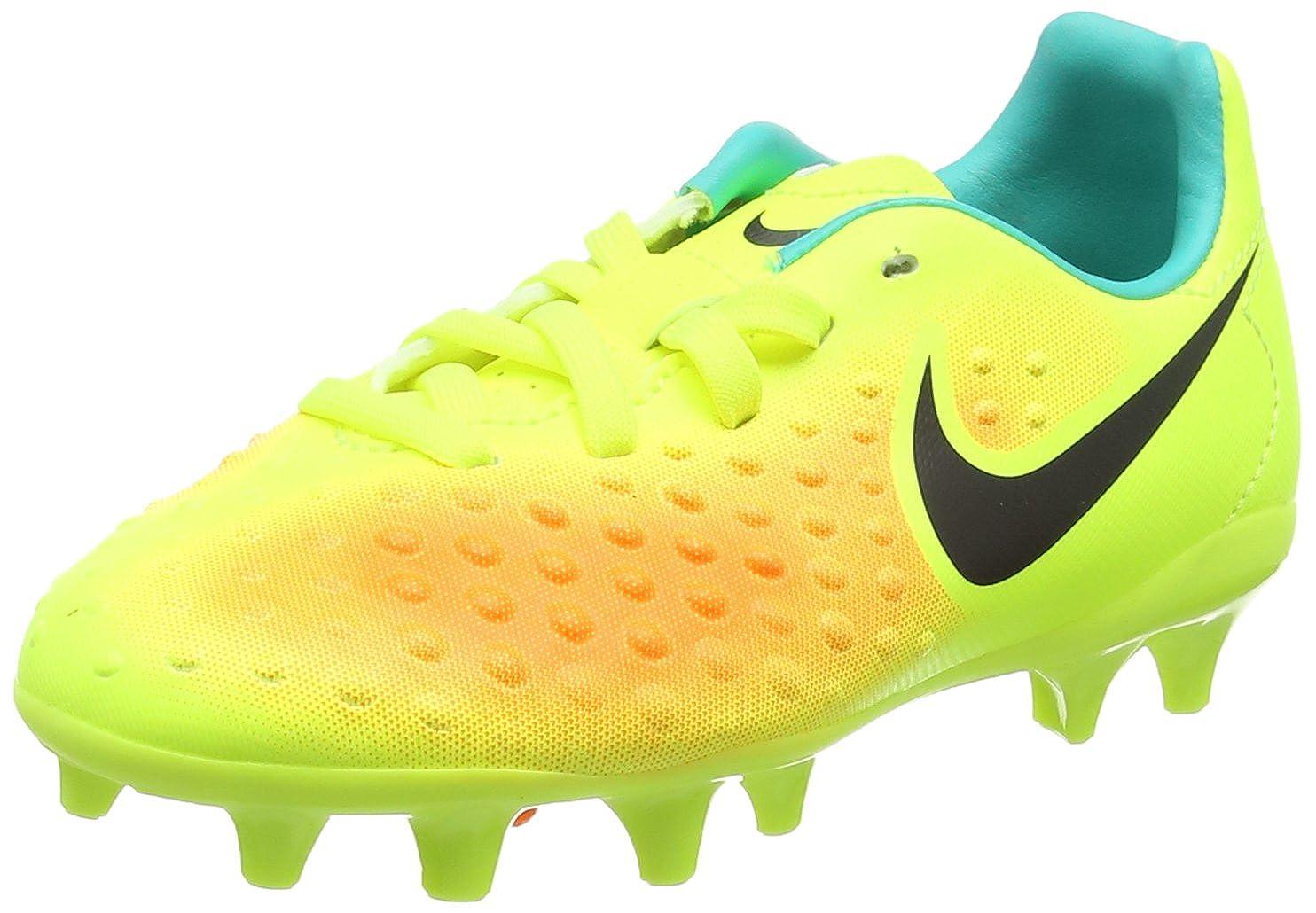 5d1e62ab035e NIKE Unisex Kids' Jr Magista Opus Ii Fg Football Boots, Multicolor  (Volt/Total Orange/Clear Jade/Black), 9.5 Child UK 27 EU: Amazon.co.uk:  Shoes & Bags