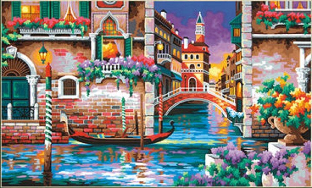Pintura por Numeros (18625482) paisaje 20x12