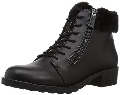Trotters Women's below Zero Ankle Bootie, Black, ...