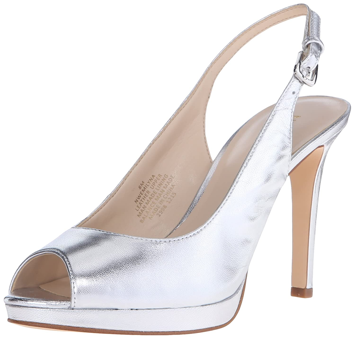 Nine West Women's Emilyna Metallic Dress Pump
