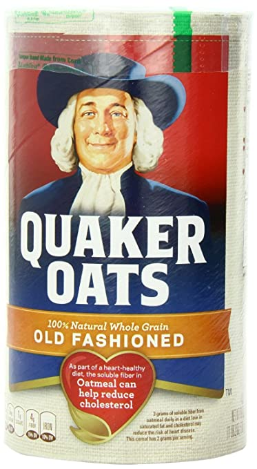 The Plain Quaker oatmeal travel product recommended by Summer Yule on Pretty Progressive.