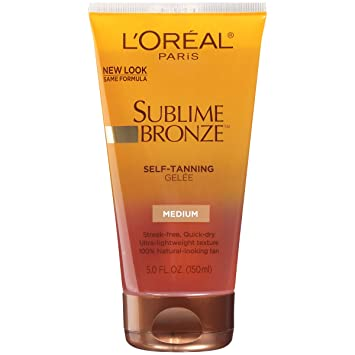 loreal sublime bronze gel