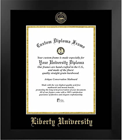 Amazoncom Liberty University Most Popular Diploma Frame 14 X 17