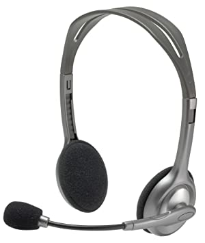 Logitech H110 Wired Stereo Headset (981-000214)