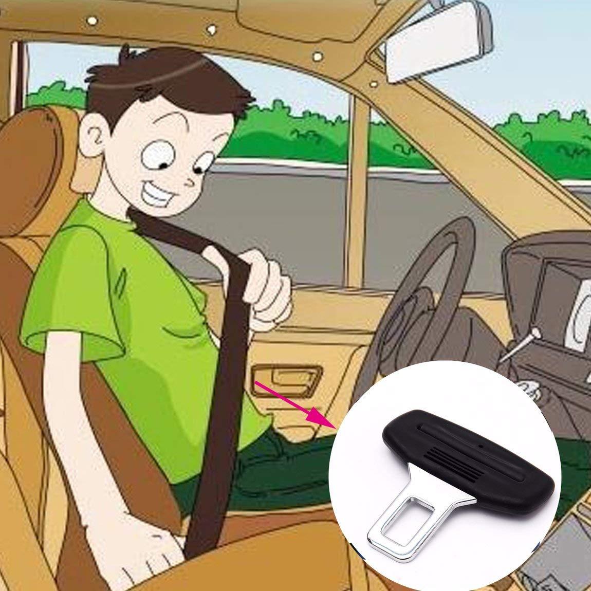 Clip de cintur/ón de Seguridad para autom/óvil Hebilla de cintur/ón de Seguridad para autom/óvil Abridores de Botellas montados en veh/ículos HarveyRudol85 Excelente
