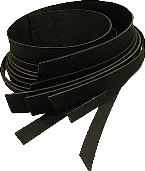 """Brown 51mm Buffalo Leather Strips 8//9 ounce 2/"""""""