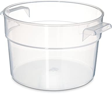 Amazoncom Carlisle 020530 Bains Marie Round Storage Container Only
