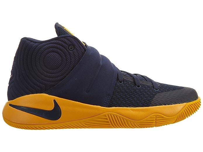 promo code 305ed d5756 ... Amazon.com Nike Kyrie 2 GS (Mid NavyMid Navy-University Gold-Un ...