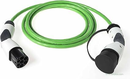 Elektroauto Ladekabel ELEVEL EV Ladekabel Typ 2 Mode 3 16A /& IP55 Ladekabel Auto 5 Meter zum Laden von E-Autos an Lades/äulen IEC62196-2 Typ 2 Ladekabel 3-phasig mit 11kW