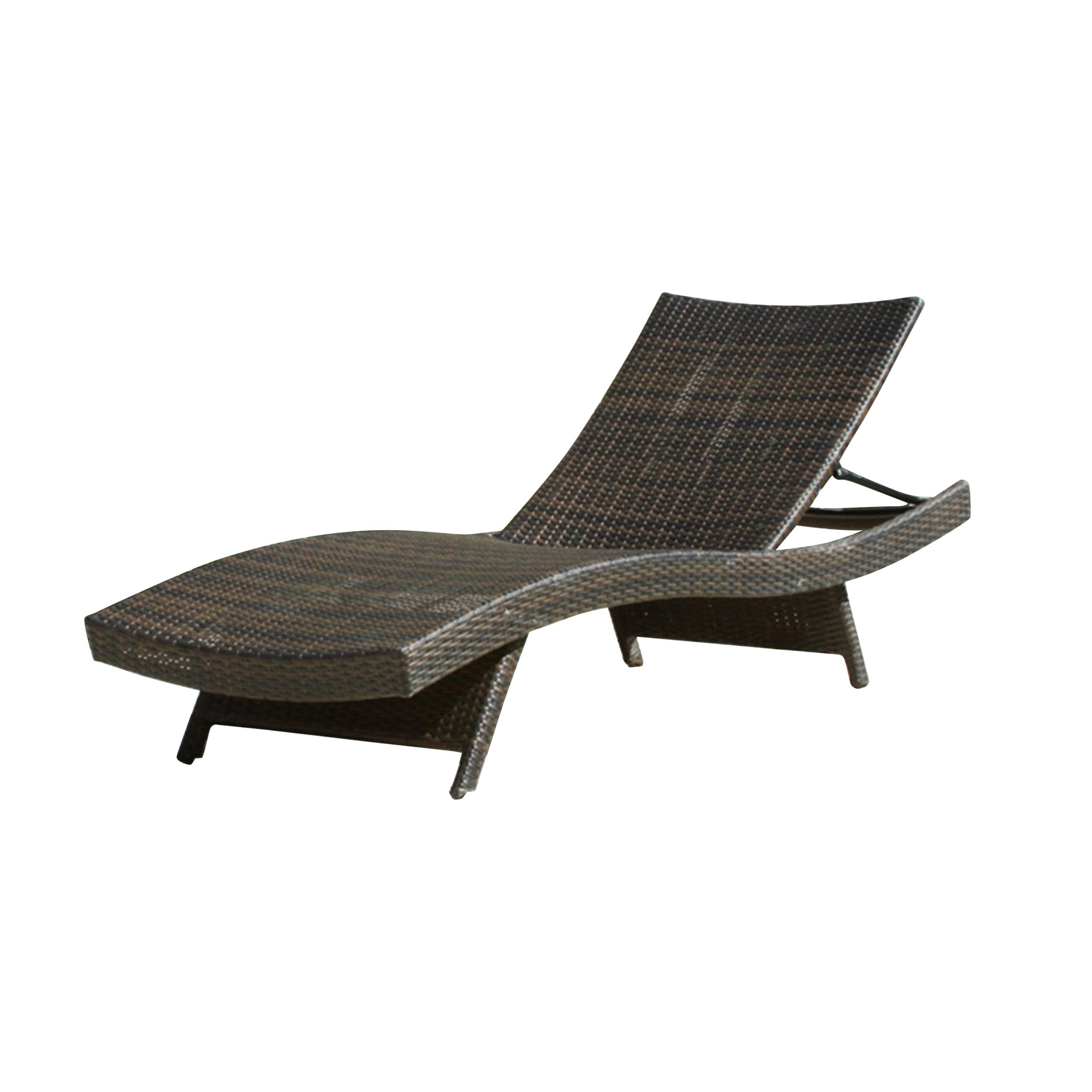 Christopher Knight Home 234420 Salem Chaise Lounge Chair, Multi-Brown by Christopher Knight Home