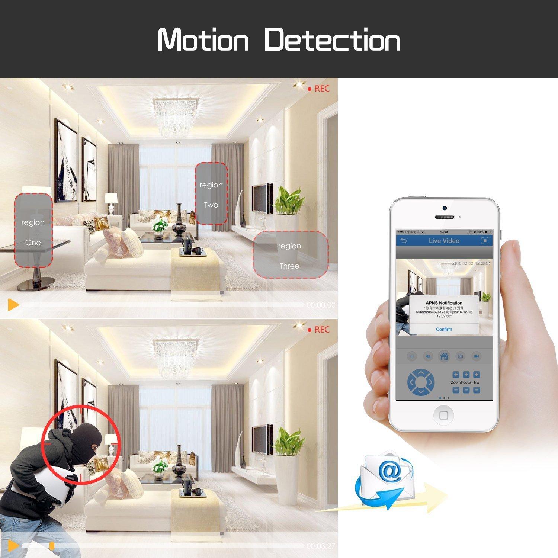 Amazon.com : Camara De Seguridad Para Casas Profesionales 8 PCK Disco Duro 1TB Vision Noche : Camera & Photo