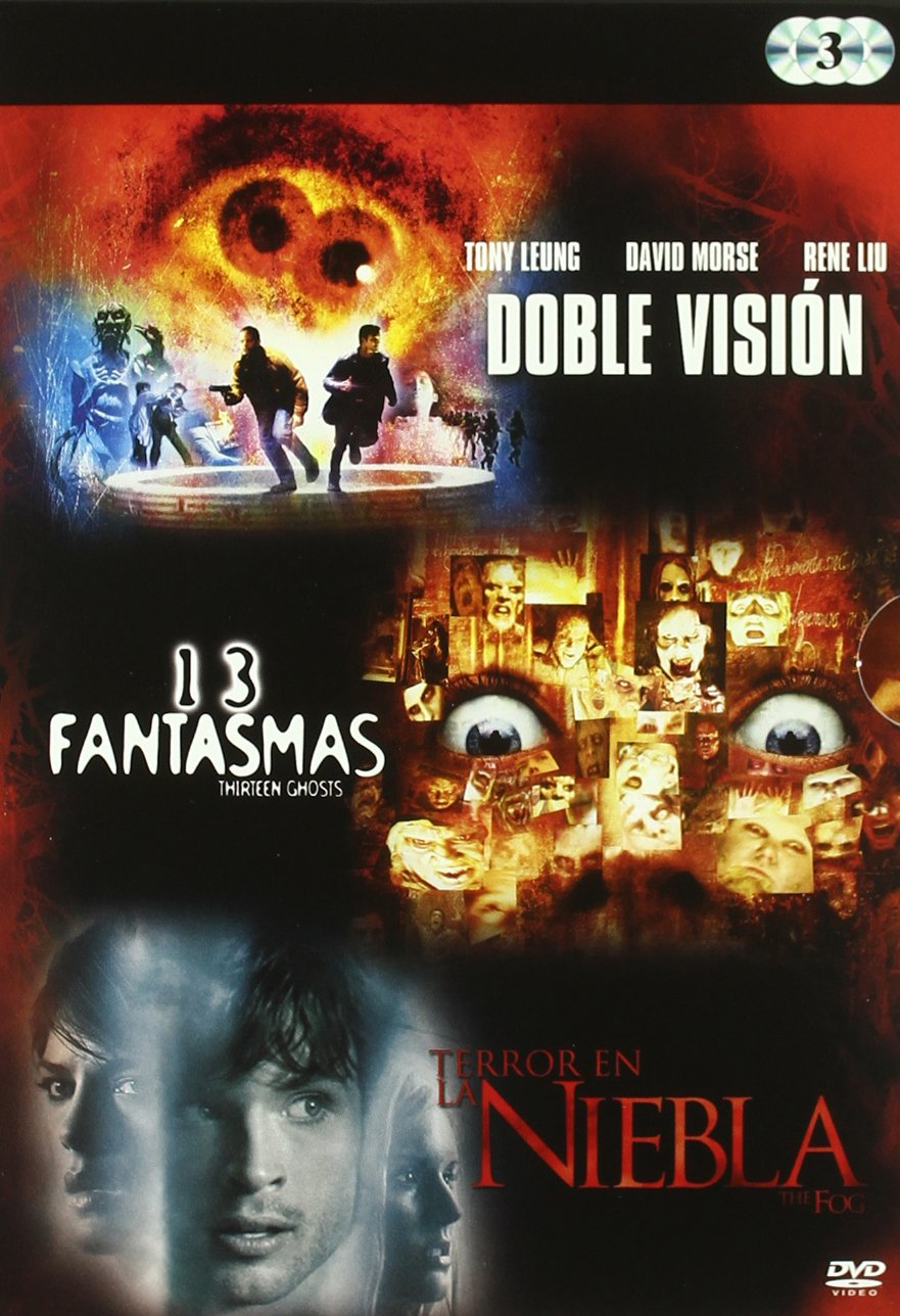 Añadir A Wishlist Pack Triple Accion: Doble Vision + 13 Fantasmas + Terror En La Niebla Añadir A Wishlist DVD: Amazon.es: Varios: Cine y Series TV