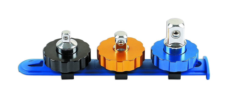 plateado Juego de llaves de vaso 3/piezas Laser 6688/