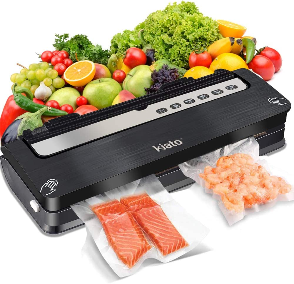 Vacuum Sealer Machine, Automatic Food Sealer for Food Savers for Dry and Moist Fresh Food