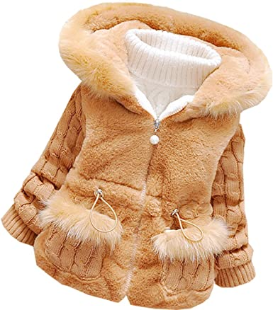 Baby Girls Winter Autumn Cotton Warm Jacket Coat