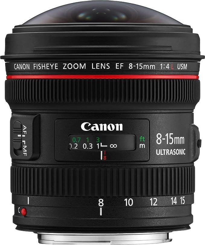 Canon EF 8-15mm f/4L Fisheye USM: Amazon.es: Electrónica