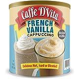 Caffe D'Vita French Vanilla Cappuccino 4 lb. can