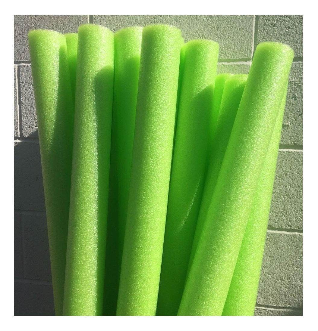 Unbranded Lot 8X Green Noodle Swimming Pool Noodle Therapy Water Floating Foam Craft by Unbranded