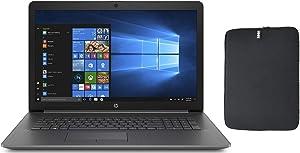 HP 17.3 HD+ Laptop Bundle with WOOV Accessory, 8th Gen Intel Quad Core i5-8265U (Beat i7-7500U), 16GB RAM, 1TB SSD, DVD-RW, Card Reader, HDMI, Windows 10 Home