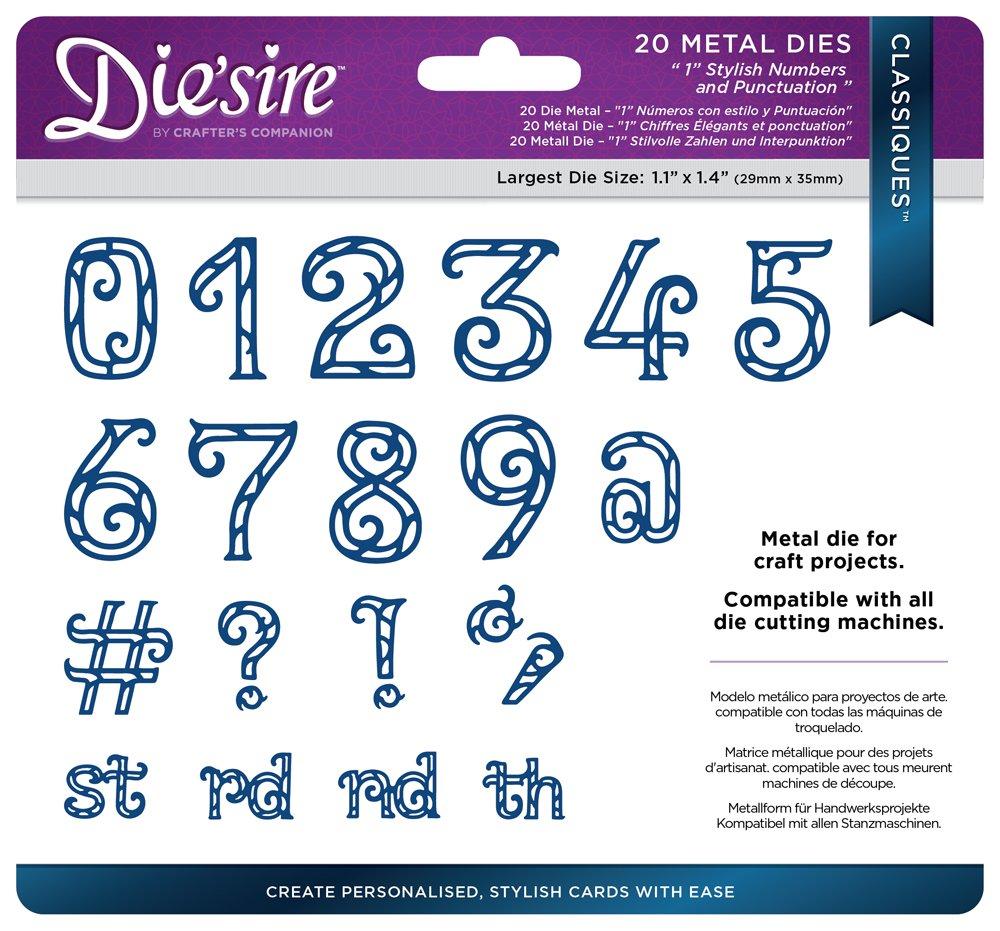 Silver Diesire DS-C-1LOW-DEC Thin Metal Die