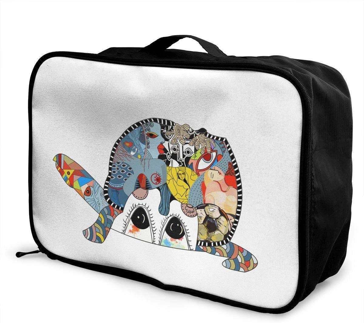 Turtle Duffle Bag Large Sea Turtle Gym Bags