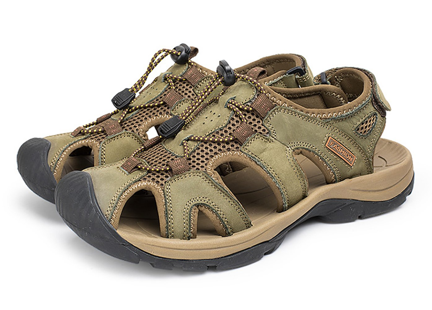 Sk Studio En Fermées Cuir De Chaussures Sandales Homme Outdoor zVpqUjGLMS