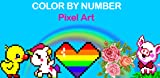 Color By Number - Pixel Art Coloring Pages
