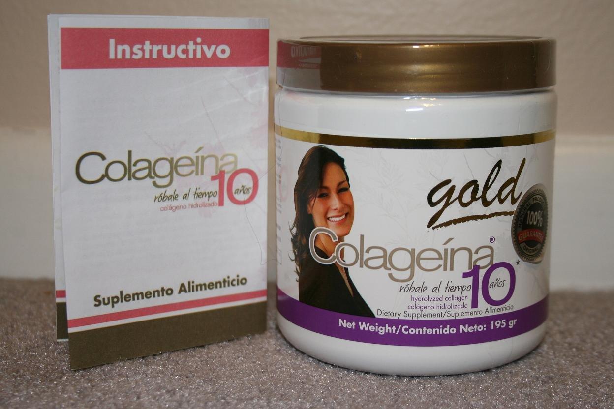 Amazon.com: Colageina 10 GOLD (6 bottles) - Colageina10 - 100% Original: Beauty