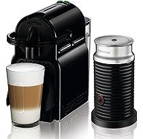 Nespresso DeLonghi Inissia Milk EN 80BAE Cafetera de cápsulas ...
