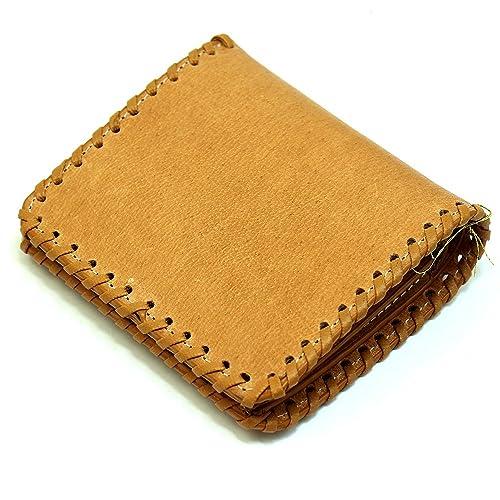 c70cd8461a2d (ビームズスクエア)BEAMZSQUARE バッファロー 革 二つ折り財布 メンズ ショートウォレット キャメル [ブランド