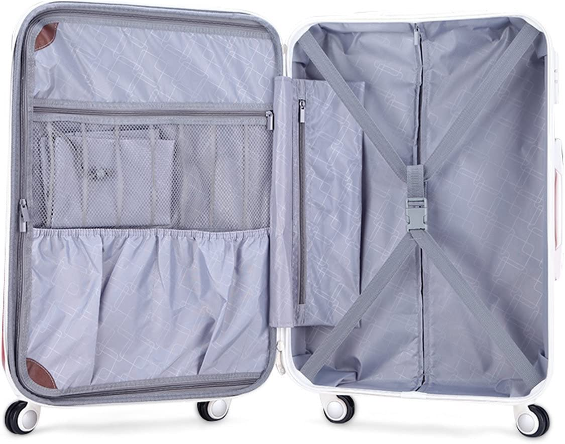 PANGPANGXIONG multicolor hardside luggage 24inch
