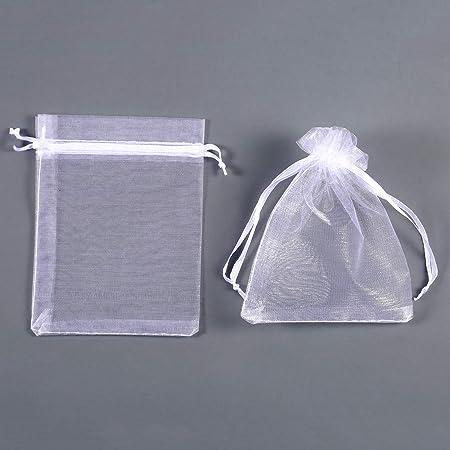Amazon.com: Mudder Bolsas de organza para regalo de boda ...