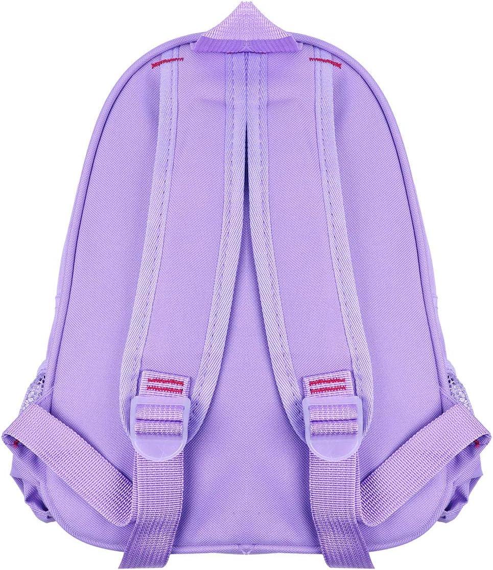 iiniim Kids Girls Students School Backpack Ballet Dance Bag Embroidered Ballerina Dancing Shoulder Bag