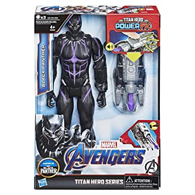 Avengers - Titan Hero FX Black Panther (Hasbro E3306105): Juguetes y juegos