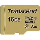Transcend microSDHCカード 16GB MLC UHS-I Class10 TS16GUSD500S