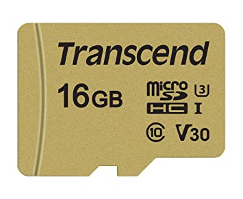 Transcend USD500S - Tarjeta microSD de 16 GB, microSDHC ...