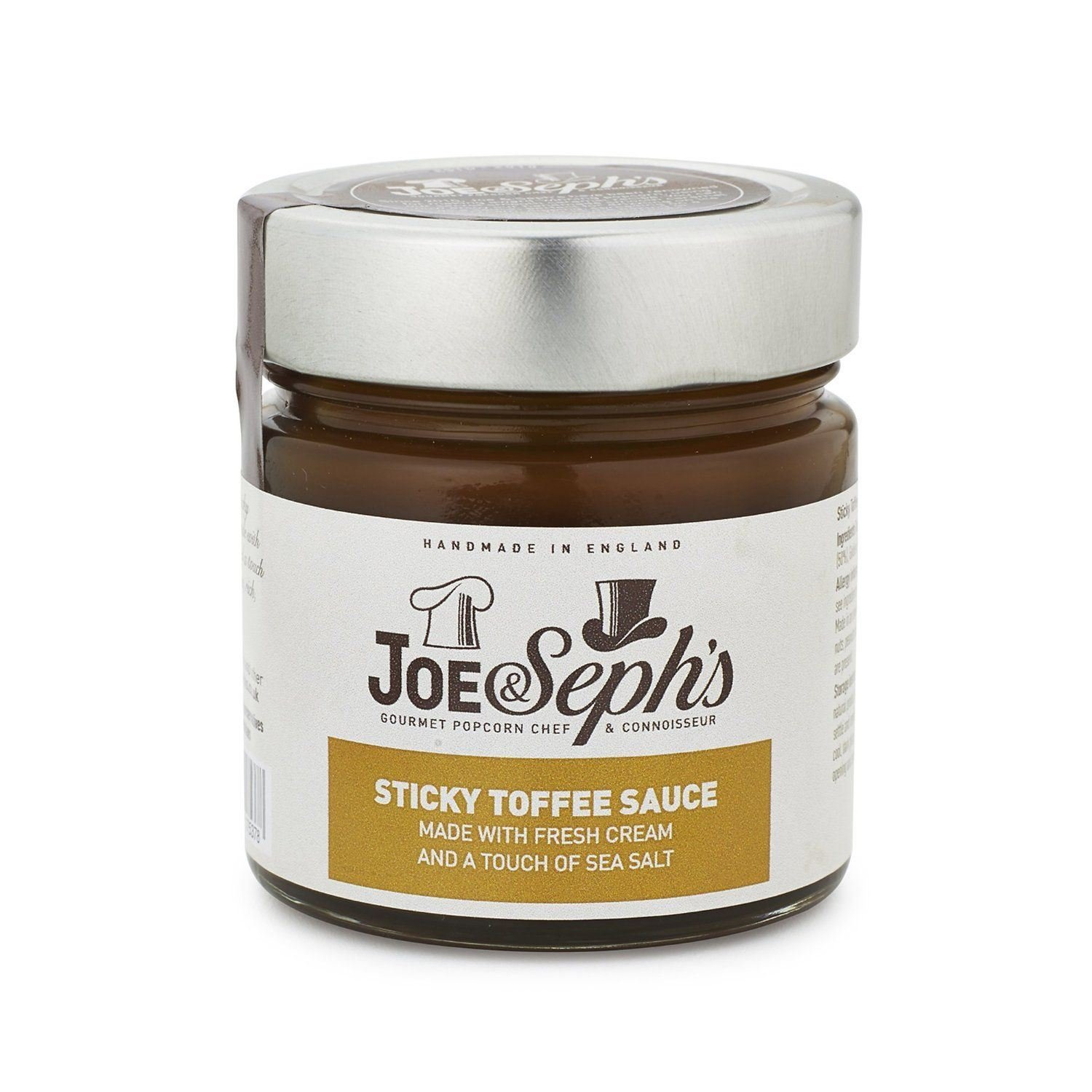 Joe&Sephs Sticky Toffee Sauce 230g (Pack of 3)