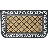 """Rubber-Cal """"Autumn Breeze"""" Outdoor Coco Welcome Doormat, 18 x 30-Inch"""