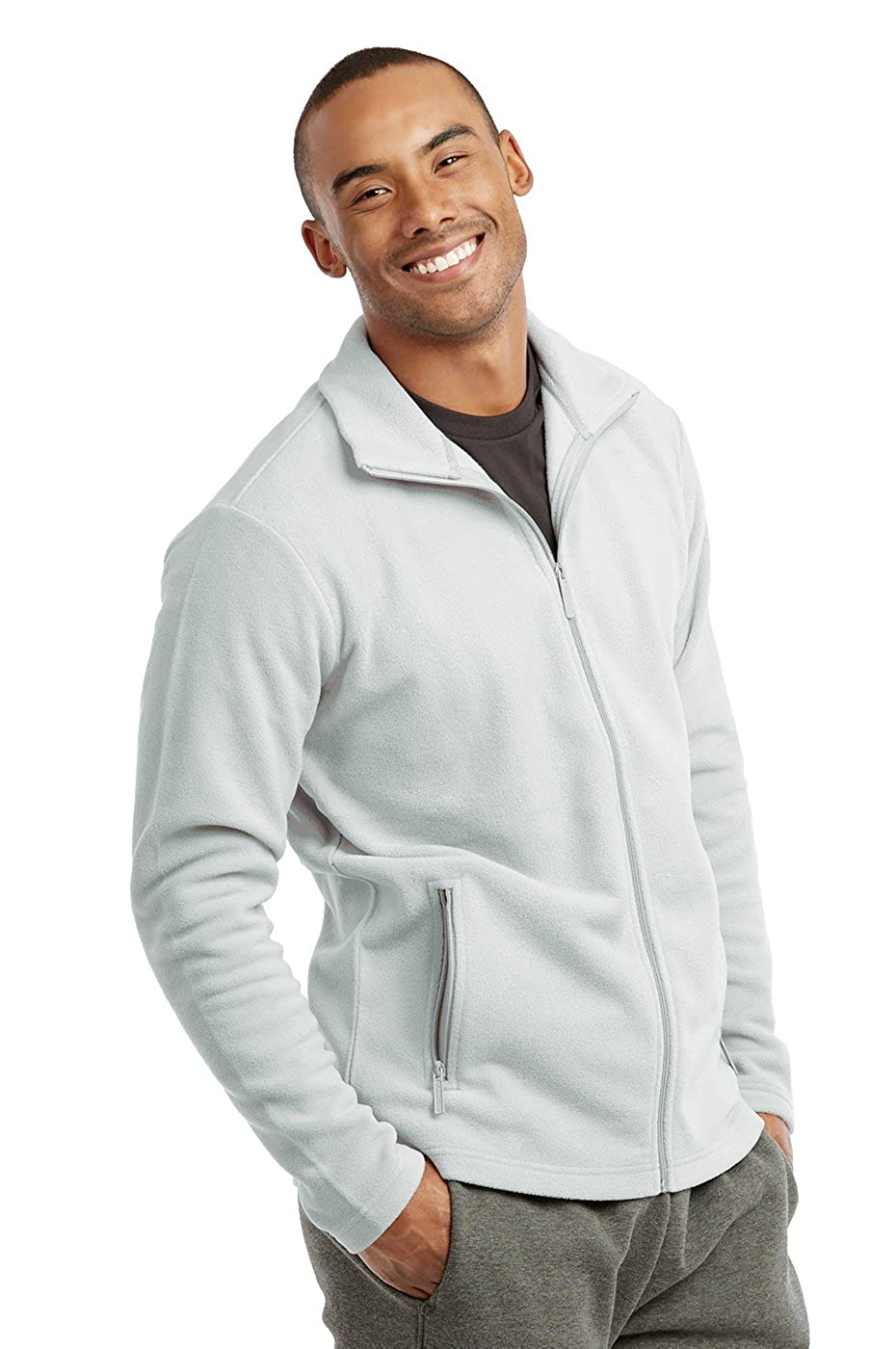 Mens Polar Fleece Zip Up Jacket