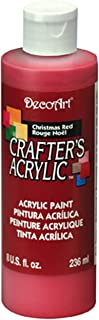 product image for DecoArt DCA20-9 Crafters Acrylic, 8-Ounce, Christmas Red
