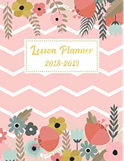 Teacher Notebook 2018-2019: Lesson Plan and Record Book