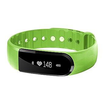 COOSA Bracelet Intelligent Montre Connectée Écran Tactile Fitness Tracker Podomètre Calories Sommeil Fréquence Cardiaque Rappel d