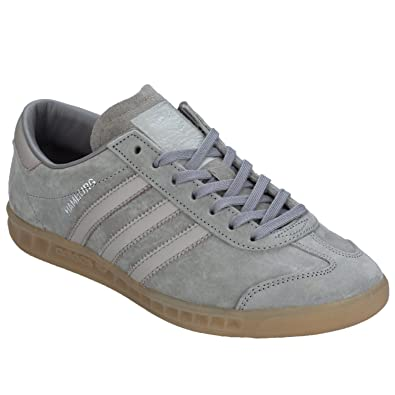 genuine shoes online shop newest collection Adidas Originals Hamburg Grau Sneakers Herren S79985,44 2/3