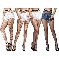 Sexy Fishnet Pantyhose Tights Women's Net Stockings Waist High Neon Lingerie lg6651
