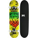 Krown Zion Lion Rookie Complete Skateboard, 7.5 x 31""