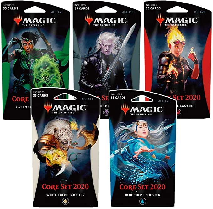 MAGIC THE GATHERING CORE SET 2020 BLUE THEME BOOSTER PACK 35 CARDS