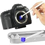 Mekingstudio Sensor Gel Stick Jelly Camera CCD CMOS Sensor Cleaning Kit for Nikon Canon Sony DSLR SLR Camera, with Delicate Metal Box Packaging