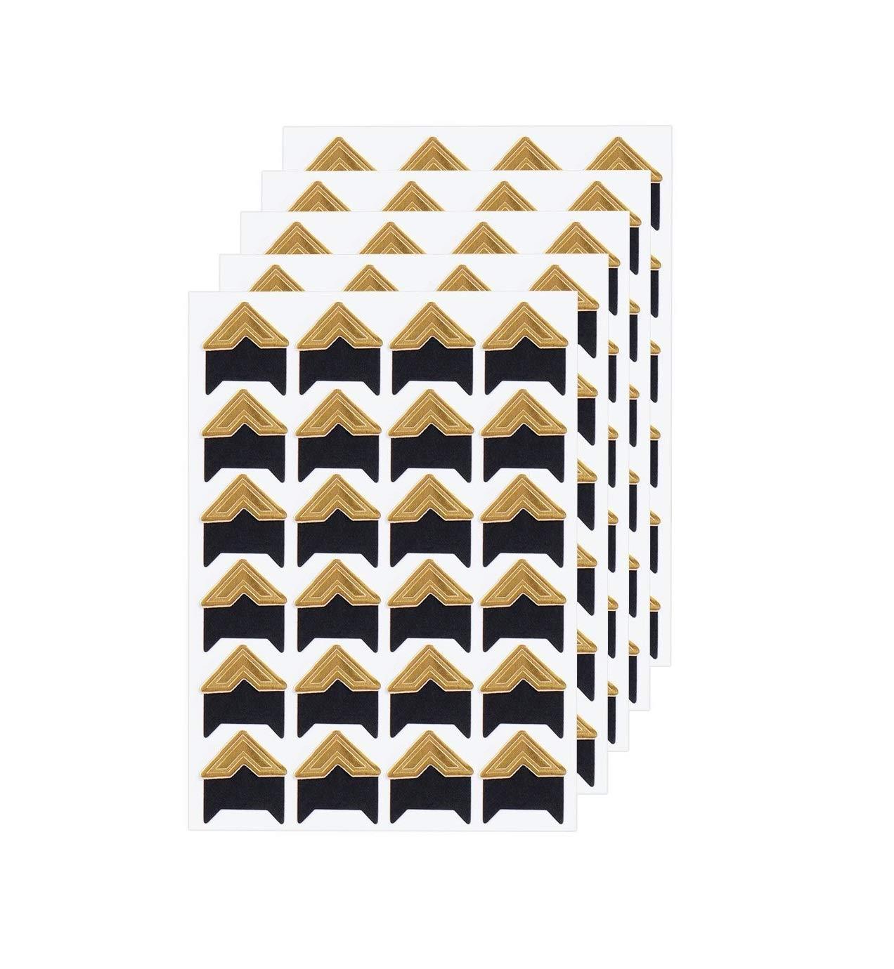 360 Count Self-Adhesive Acid Free Photo Corners for Scrapbooks Memory Books (Gold) Pulaisen 4336977538
