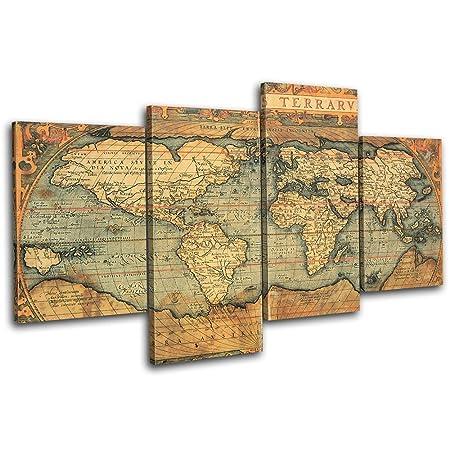 Bold bloc design old world atlas maps 120x68cm 4 panel offset bold bloc design old world atlas maps 120x68cm 4 panel offset cascade large xl canvas art gumiabroncs Image collections