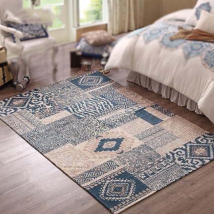 Amazon.com: Sunhai Rug American Country Living Room Carpet ...